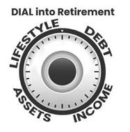 DIAL INTO RETIREMENT DEBT INCOME ASSETSLIFESTYLE