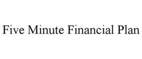 FIVE MINUTE FINANCIAL PLAN