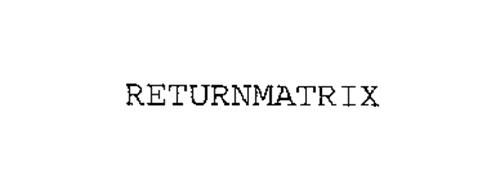 RETURNMATRIX