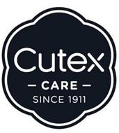 CUTEX CARE SINCE 1911
