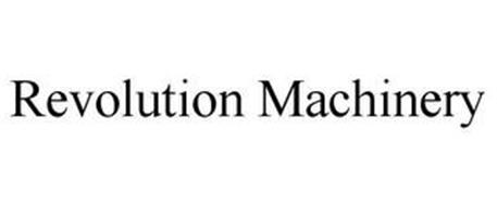 REVOLUTION MACHINERY