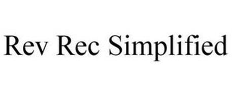 REV REC SIMPLIFIED