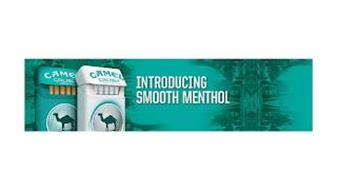 CAMEL CRUSH SMOOTH CAMEL CRUSH SMOOTH SILVER INTRODUCTING SMOOTH MENTHOL
