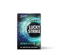 LUCKIES LUCKY STRIKE ACTIVATE GREEN AN AMERICAN ORIGINAL
