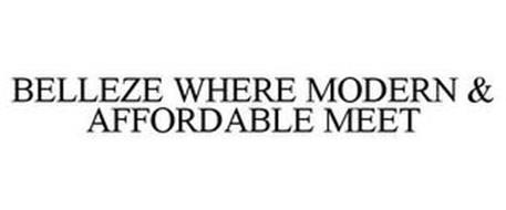 BELLEZE WHERE MODERN & AFFORDABLE MEET