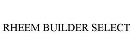 RHEEM BUILDER SELECT