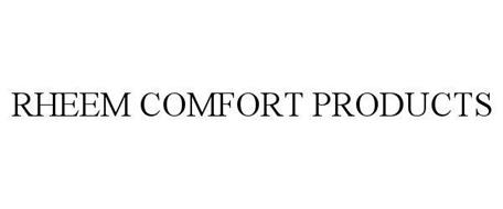RHEEM COMFORT PRODUCTS