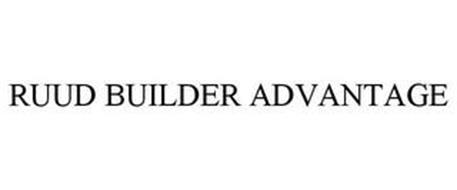 RUUD BUILDER ADVANTAGE