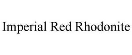 IMPERIAL RED RHODONITE