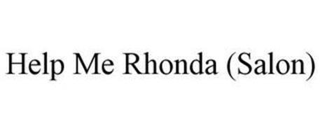 HELP ME RHONDA (SALON)