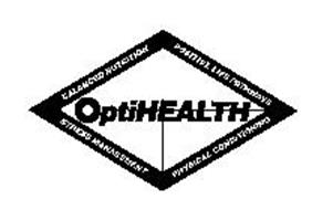 OPTIHEALTH BALANCED NUTRITION POSITIVE LIFE PATHWAYS STRESS MANAGEMENT PHYSICAL CONDITIONING