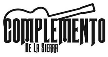 COMPLEMENTO DE LA SIERRA