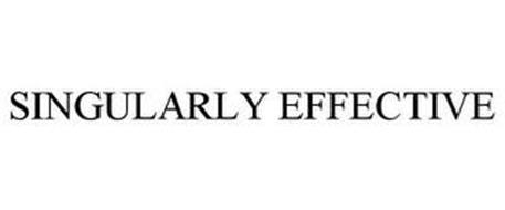SINGULARLY EFFECTIVE