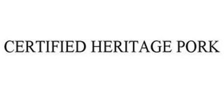 CERTIFIED HERITAGE PORK