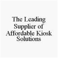 THE LEADING SUPPLIER OF AFFORDABLE KIOSK SOLUTIONS