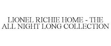 LIONEL RICHIE HOME - THE ALL NIGHT LONG COLLECTION