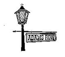 ADAMS ROW