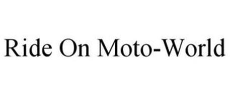 RIDE ON MOTO-WORLD