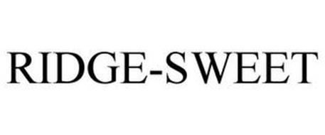 RIDGE-SWEET