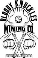 BLOODY KNUCKLES MINING CO. LAPLATA CO, COLORADO