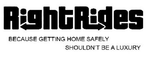 RIGHTRIDES BECAUSE GETTING HOME SAFELY SHOULDN'T BE A LUXURY
