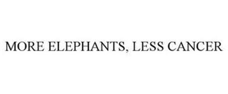 MORE ELEPHANTS, LESS CANCER