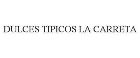 DULCES TIPICOS LA CARRETA
