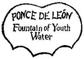 PONCE DE LEON FOUNTAIN OF YOUTH WATER