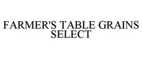 FARMER'S TABLE GRAINS SELECT