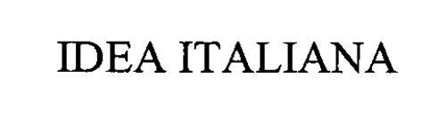 IDEA ITALIANA