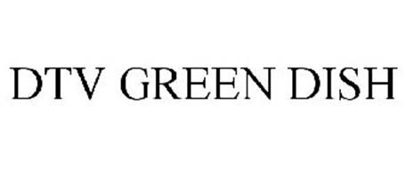 DTV GREEN DISH