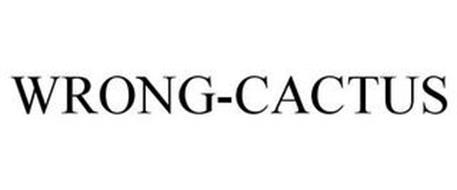 WRONG-CACTUS