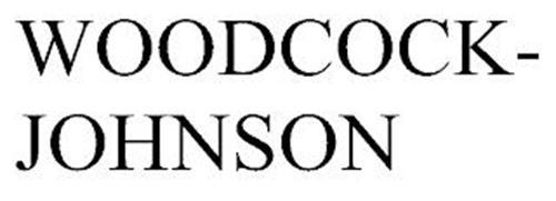 WOODCOCK-JOHNSON