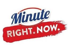 MINUTE RIGHT.NOW.