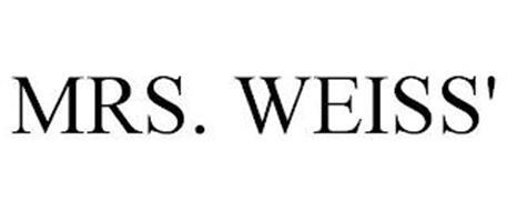 MRS. WEISS'