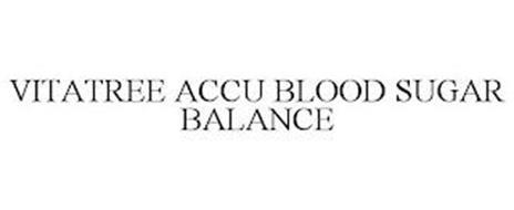 VITATREE ACCU BLOOD SUGAR BALANCE