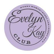 EVELYN KAY CLUB EVERY WOMAN EVERY AGE EVERY DAY