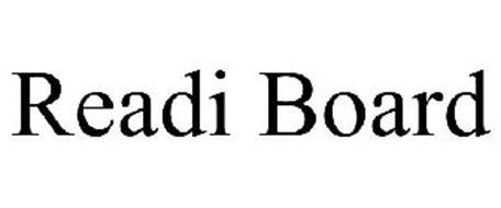 READI-BOARD