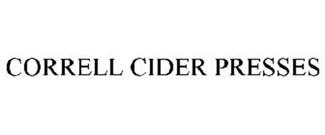 CORRELL CIDER PRESSES