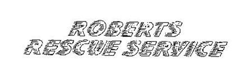 ROBERTS RESCUE SERVICE