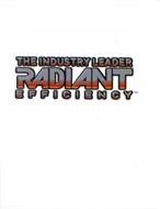 THE INDUSTRY LEADER RADIANT EFFICIENCY