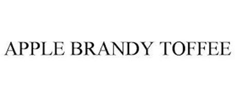 APPLE BRANDY TOFFEE
