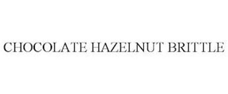CHOCOLATE HAZELNUT BRITTLE