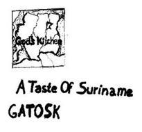 GOD'S KITCHEN A TASTE OF SURINAME GATOSK