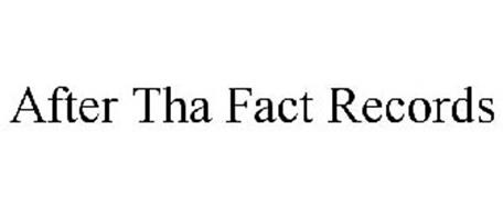AFTER THA FACT RECORDS