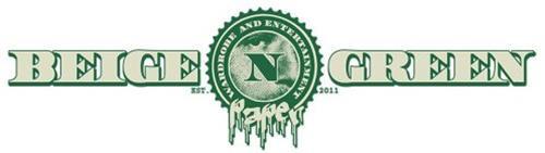 BEIGE N GREEN WARDROBE AND ENTERTAINMENT PAPER EST. 2011