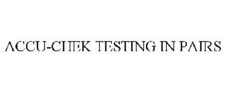 ACCU-CHEK TESTING IN PAIRS