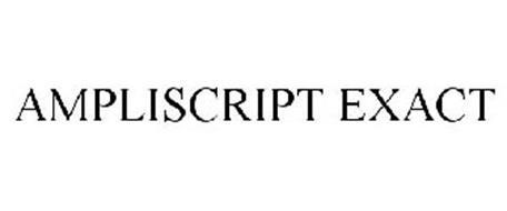 AMPLISCRIPT EXACT