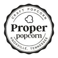 CRAFT POPCORN PROPER POPCORN KNOXVILLE,TENNESSEE