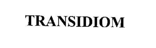 TRANSIDIOM